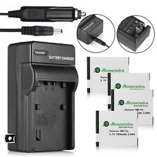 NB-11L NB11LH Battery + Charger for Canon PowerShot ELPH 110 HS A2300 A2500 IS