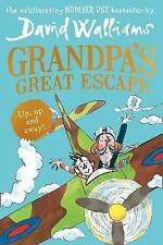 Grandpa's Great Escape, By Walliams, David,in Used but Acceptable condition