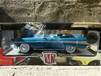M2 Machines 1957 Chevy Bel Air Convertible 1:24 Scale Diecast Model Car