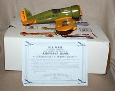 Collector Series US Mail Airplane Bank - US Air Mail #101 NIB