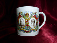 Vintage King George V Queen Mary Silver Jubilee CUP 1910-1935 Royal Melba China