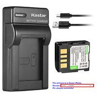 Kastar Battery Slim Charger for JVC BN-VF707 & JVC GR-D270TW GR-D270U GR-D270US