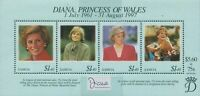 Samoa 1998 SG1028 Diana Princess Of Wales MS MNH