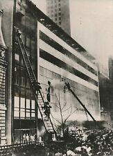 U S A 1958 -Incendie Pompiers Grande Échelle Musée d'Art Moderne New-York-PR 399