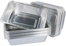 30x Grillschale - Schalen aus Aluminium - Alu-Grillpfanne zum Grillen & Kochen