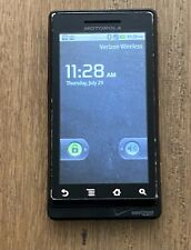 Motorola Droid A855  Black (Verizon) Smartphone cell phone