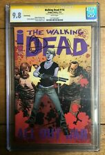 The Walking Dead #116 CGC SS 9.8 Charlie Adlard Rarest TWD Comic Book Unreleased