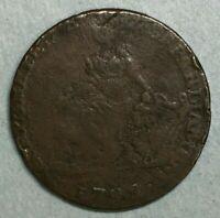 1792 Camac Kyan and Camac Halfpenny Token Dublin Half 1/2 Penny Irish Harp ZS185