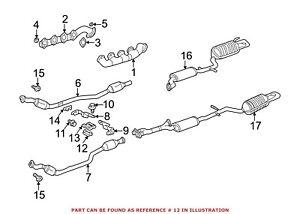 For Mercedes Genuine Exhaust System Hanger Bracket 1404920018