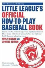 Little League's Official How-To-Play Baseball Book: Based on the bestselling vid