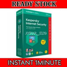 KASPERSKY INTERNET SECURITY 1PC/MAC 1YEAR GLOBAL KEY INSTANT DELIVERY