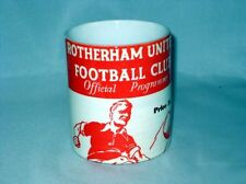 Rotherham United Football Programme Collectors Great New MUG