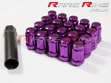 Purple Spline Wheel Nuts x 20 12x1.5 mm Fit Mitsubishi EVO Lancer FTO GTO