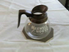 Vintage, H-269, Maxwell House, Glass, Coffee Pot