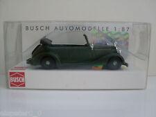 """Busch 41404 MERCEDES 170v Cabriolet """"volonté police"""", h0 voiture modèle 1:87"""