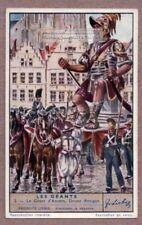Giant Of Anvers Belgium Druon Antigon Parade And Festival 75+ Y/O Trade Ad Card