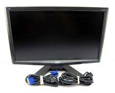"Acer X183H 18.5"" Widescreen LCD Computer Monitor Flat Screen Desktop VGA 19"""