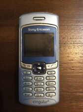 Sony Ericsson T226 Pacific Blue At&T Cellular Keypad Phone