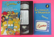 VHS film I SIMPSON 8 SECONDA STAGIONE La paura fa novanta Due (F107) no dvd