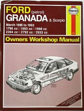 Haynes - Ford Granada & Scorpio (Petrol) March 1985-1993 Owners Workshop Manual