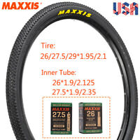 """MAXXIS 26/27.5/29"""" Mountain Tires Puncture Resistant Wire Bead Tyre Inner Tube"""