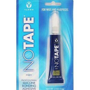 Vapon No Tape Silicon Adhesive 1/2 oz-Professional Silicon Bonding Adhesive-Wigs