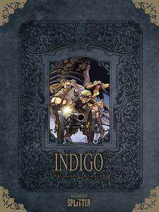 INDIGO GESAMTAUSGABE - DIRK SCHULZ - 10 JAHRE SPLITTER - lim. 1111 Ex. - OVP