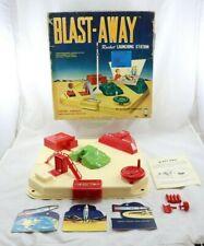 Vintage 1950's Blast-Away Rocket Launching Station Original Box Space Toy Hasbro