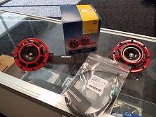 Perrin Mounting Bracket & Hella Horn GrimmSpeed Wiring Harness 15+ WRX & STI