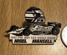 CART/Indycar Nigel Mansell-1993 PPG Indy Car World Series Pin