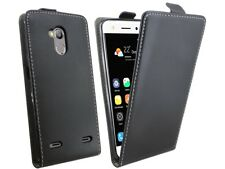 Cell Phone Case Protective Tab Pouch Cover Accessories Black For ZTE Blade V7