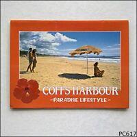 Coffs Harbour NSW North Coast Souvenirs View Folder Postcard (P617)