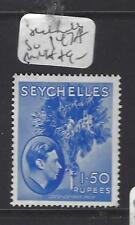 SEYCHELLES  (PP0410B) KGVI  1.5 R TREE  SG 147A   MOG