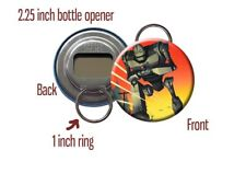 Iron Giant Animated Vin Diesel 1999 Brad Bird Bottle Opener / Keychain