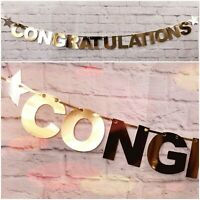 Personalised Congratulations Banner Wedding engagement bunting Graduation DHOLKI