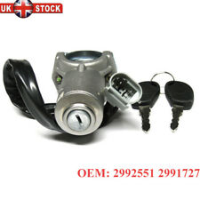 Ignition Starter Lock Barrel & 2 Keys compatible with IVECO DAILY 2000 - 2006
