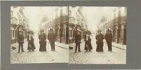 Ville A Identificare Modalità snapshot Foto Stereo Vintage Citrato c1900