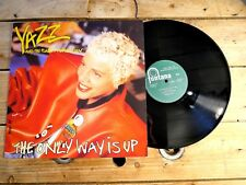 YAZZ THE ONLY WAY IS UP MAXI NO LP 33T VINYLE EX COVER EX ORIGINAL 1988