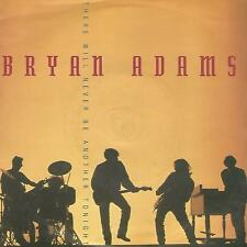 "BRYAN ADAMS "" THERE WILL NEVER BE ANOTHER TONIGHT / INTO THE FIRE "" 7"" UK PRESS"