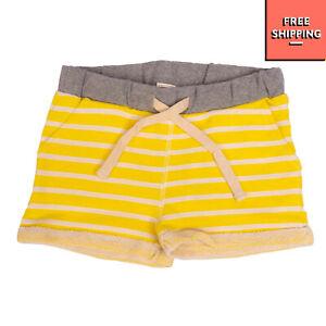 STREET CALLED MADISON Sweat Shorts Size 6Y / 116CM Melange Striped Turn-Up Cuffs