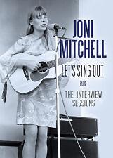 JONI MITCHELL 2019 UNRELEASED LIVE 1965-66 LIVE PERFORMANCES & INTERVIEWS DVD