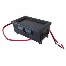 Cf615 Mini Digital VOLTMETRO 4.5-30V ROSSO LED AUTO TENSIONE pannello Gauge (130)