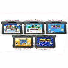 GBA Super Mario Bros Advance 1 2 3 4 or Mario Kart GameBoy Advance USA Version