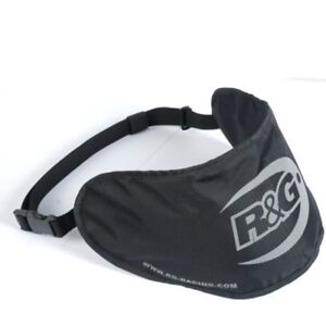 Motorcycle Bike Crash Helmet R&G Visor Bag -Adjustable Waist Pouch Protector