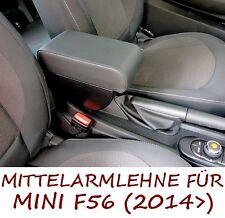 Mittelarmlehne MINI (2014>) NEW F56 - schwarzem Kunstleder - Made in Italy