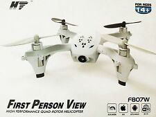 Genuine HT F807W 2.4G Wifi FPV Drone 2MP Quadcopter Plane Helicopter IR RC Play