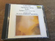 Copland -  Appalachian Spring Rodeo Fanfare  [CD Album] TELARC Louis Lane