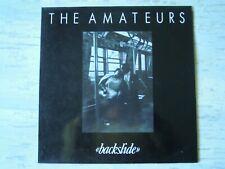 "Amateurs - ""BACKSLIDE"" (Lp) Press SPAIN 1990"