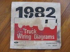 1982 ford f-600 f-700 f-800 cab truck wiring diagrams