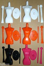 Job Lot of 6 x Harumika Dress Form Mannequins  - (S2)